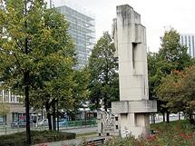 Německo, Chemnitz, dříve Karl-Marx-Stadt. Dříve Marxova alej, dnes Brückenstrasse