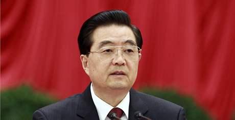 Čínský prezident Chu Ťin-tchao (18. října 2010)