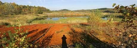 Důl Rožná a odkalovací nádrže