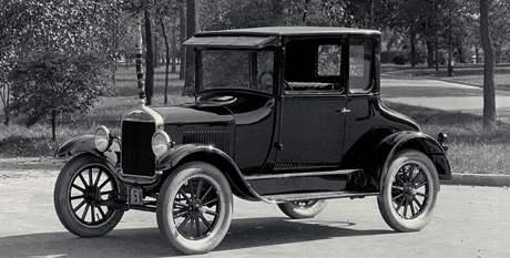 Plechová Lízinka čili model Ford T