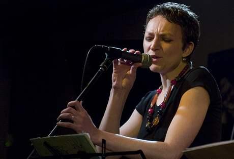 Zpěvačka Miriam Bayle