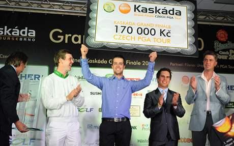 Ondřej Lébl, vítěz Czech PGA Tour 2010.