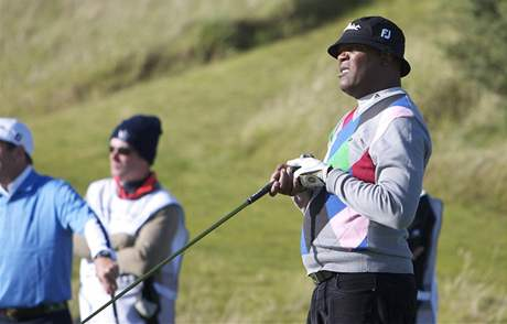 Samuel L. Jackson, Alfred Dunhill Links Championship 2010.