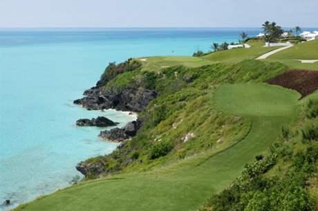 Golfové hřiště Port Royal na Bermudských ostrovech.