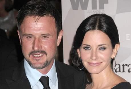 Courtney Coxová s manželem Davidem Arquettem