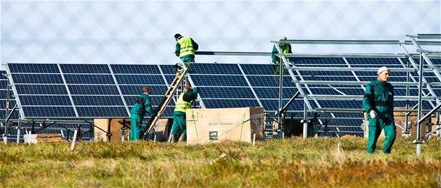 Když firma Talwin začala fotovoltaickou elektrárnu v červenci 2010 v Moldavě