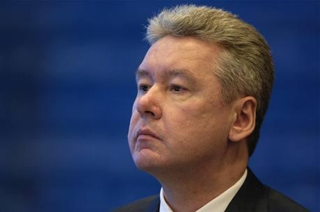 Nový moskevský starosta Sergej Sobjanin.