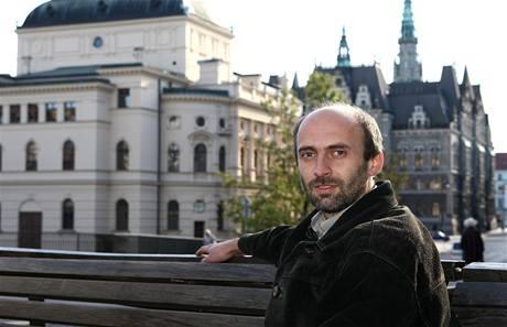 Vítěz voleb v Liberci Jan Korytář