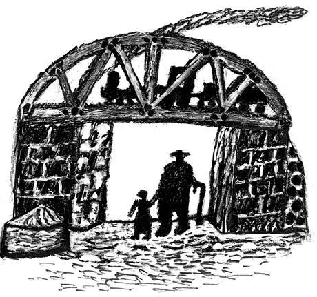 Jedna z ilustrací Štěpána Mareše, které obsahuje soubor Jiřího Černohlávka