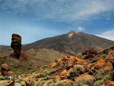 Skalní útvary v Národním parku El Teide