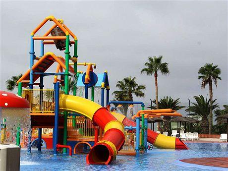 Aqualand je zaměřený především na děti