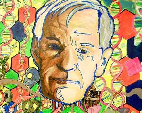 Popularizátor LSD Timothy Leary.