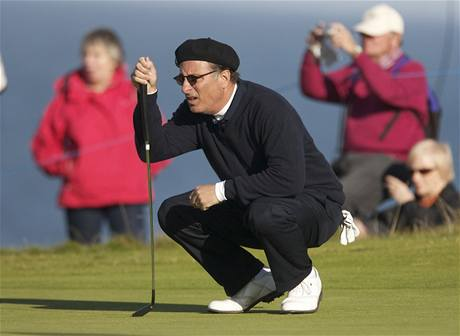 Andy Garcia, Alfred Dunhill Links Championship 2010.