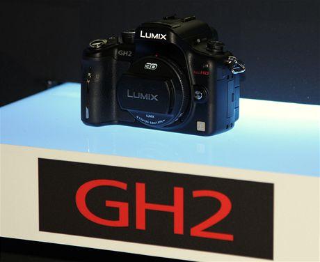 Panasonic Lumix GH2 na veletrhu CEATEC 2010 v Japonsku