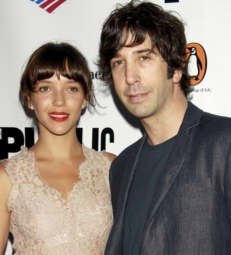David Schwimmer s manželkou Zoe Buckmanovou