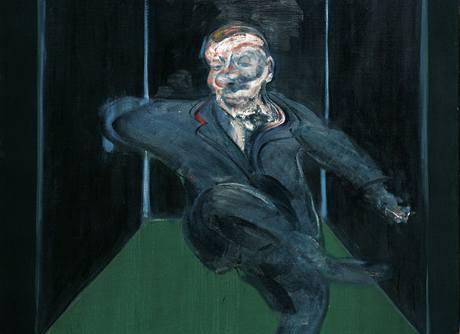 Francis Bacon: Sedící postava, 1960