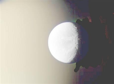 Měsíce Saturnu: Dione a Titan