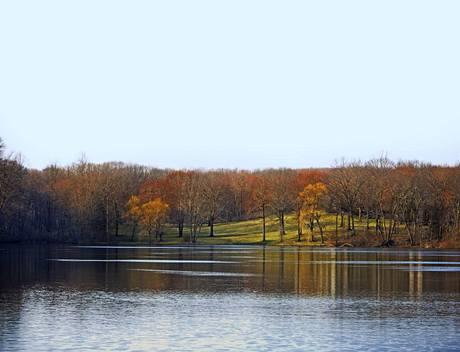 Krása okolí domu vynikne zejména v podzimních barvách