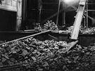Rekonstrukce Horáckého divadla v roce 1952