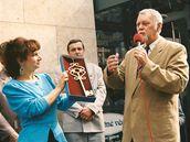 Předání klíče od Horáckého divadla, 13. září 1995