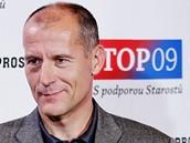 Zdeněk Tůma ve volebním štábu TOP09 (16.října 2010)
