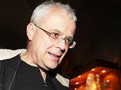 Vladimír Špidla ve volebním štábu ČSSD. (16. října 2010)