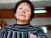 Marta Salinasová, manželka chilského horníka Yonni Barriose.