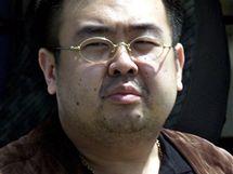 Kim Čong-nam, nejstarší syn severokorejského vůdce KIm-Čong-ila po svém zatčení v Japonsku v roce 2001