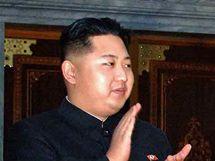 Kim Čong-un (vlevo), nejmladší syn severokorejského vůdce KIm-Čong-ila (vpravo)