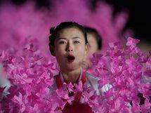 Přehlídka v Pchjongjangu u příležitosti 65. výročí vzniku Korejské strany práce (10. října 2010)