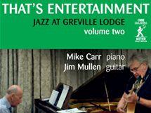 Pianista Mike Carr a kytarista Jim Mullen na obalu nynějšího alba