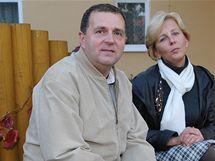 Manželé Šmídovi z Kobylnice - starostka kandiduje za KDU-ČSL, její manžel za TOP 09.