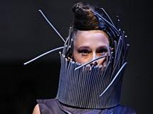 Módní přehlídka tvorby studentů ateliérů K.O.V. a Design oděvu na VŠÚP - Designblok 2010