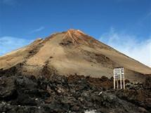 Vrchol sopky El Teide