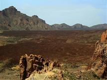 Lávové pole v Národním parku El Teide