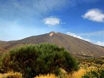 Svahy sopky El Teide