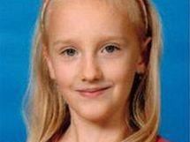 Pohřešovaná devítiletá dívka Anička Janatková