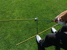 Obtížné golfové rány - fade.