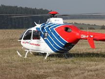 K nehodě u Vendolí musely letět dva vrtulníky