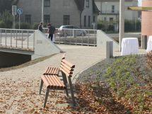 Kolonáda v Lázních Bohdaneč