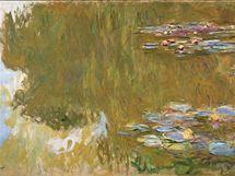 Claude  Monet: Lekníny (detail), 1917 – 1919