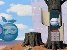 René Magritte: Přenádherná krajina, 1953