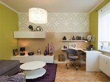 Obývací pokoj: olivová varianta