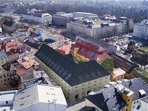 Takhle by měla barokní budova vypadat po rekonstrukci za 100 milionů korun.