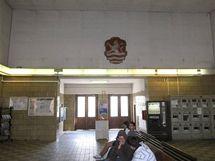 Současná podoba horního nádraží v Karlových Varech.