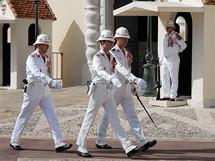 Výměna stráže v Monaku