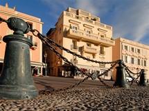 Palácové náměstí v Monaku