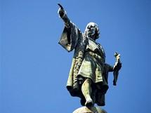 Socha Kryštofa Kolumba ukazujícího na novou zemi, Barcelona