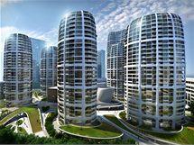 Investiční skupina Penta chce v roce 2012 v Bratislavě zahájit stavbu mrakodrapů. V architektonické soutěži zvítězila britská architektka iráckého původu Zaha Hadid
