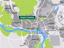 Nová obytná a administrativní zóna vznikne nedaleko centra Bratislavy
